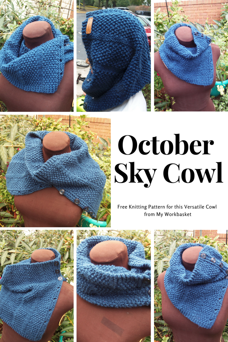 Free knitting pattern for this versatile buttoned cowl from My ...