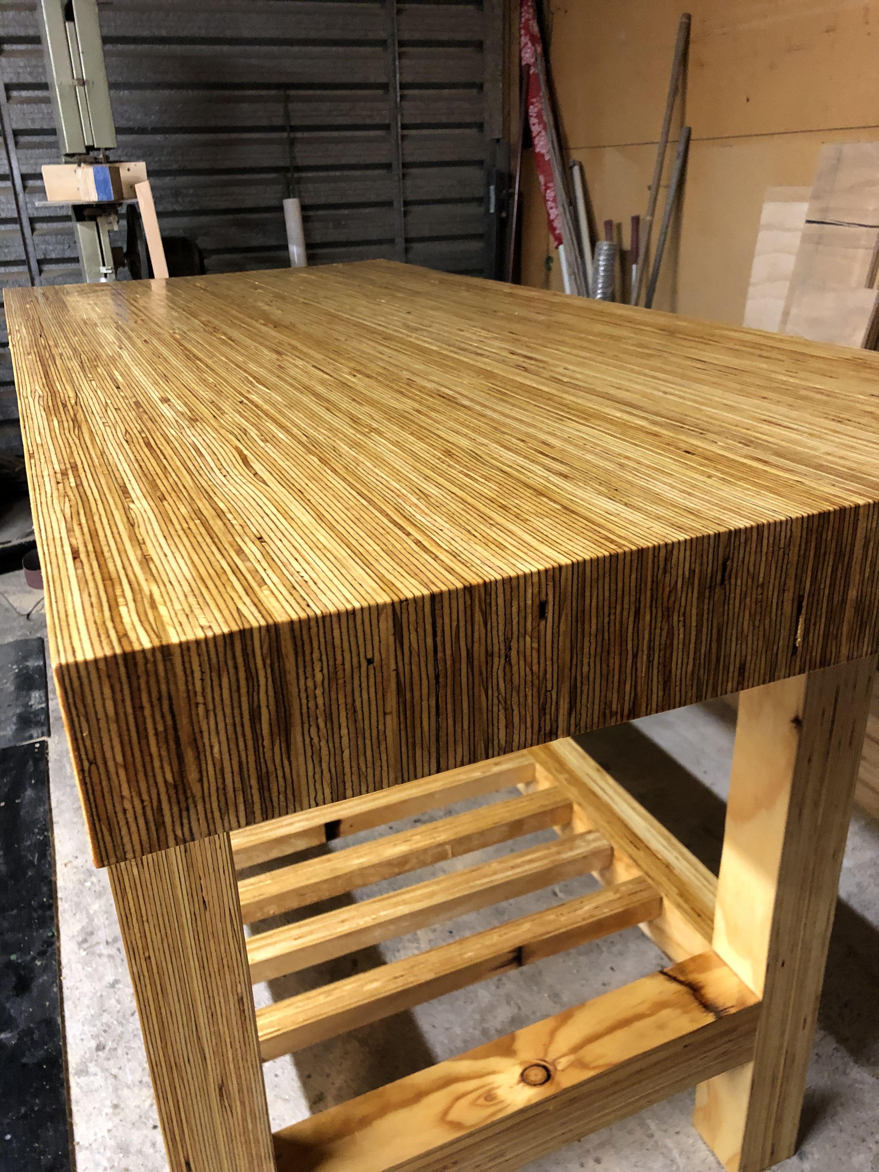 Lvl Workbench Wood Laminate Wood Creations Workbench