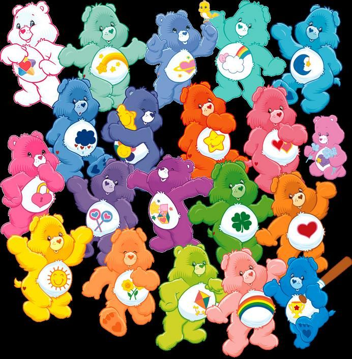 Toy Throwback of the Day: Care Bears!  The Care Bears were actually created in the early 1980's as greeting card characters, before eventually being made into plush toys! Movies, TV series's and the inclusion of the Care Bear family followed, cementing these cuddly bears in pop culture, and becoming a staple for an entire generation's childhoods.   Did YOU (or your kids) love the Care Bears?