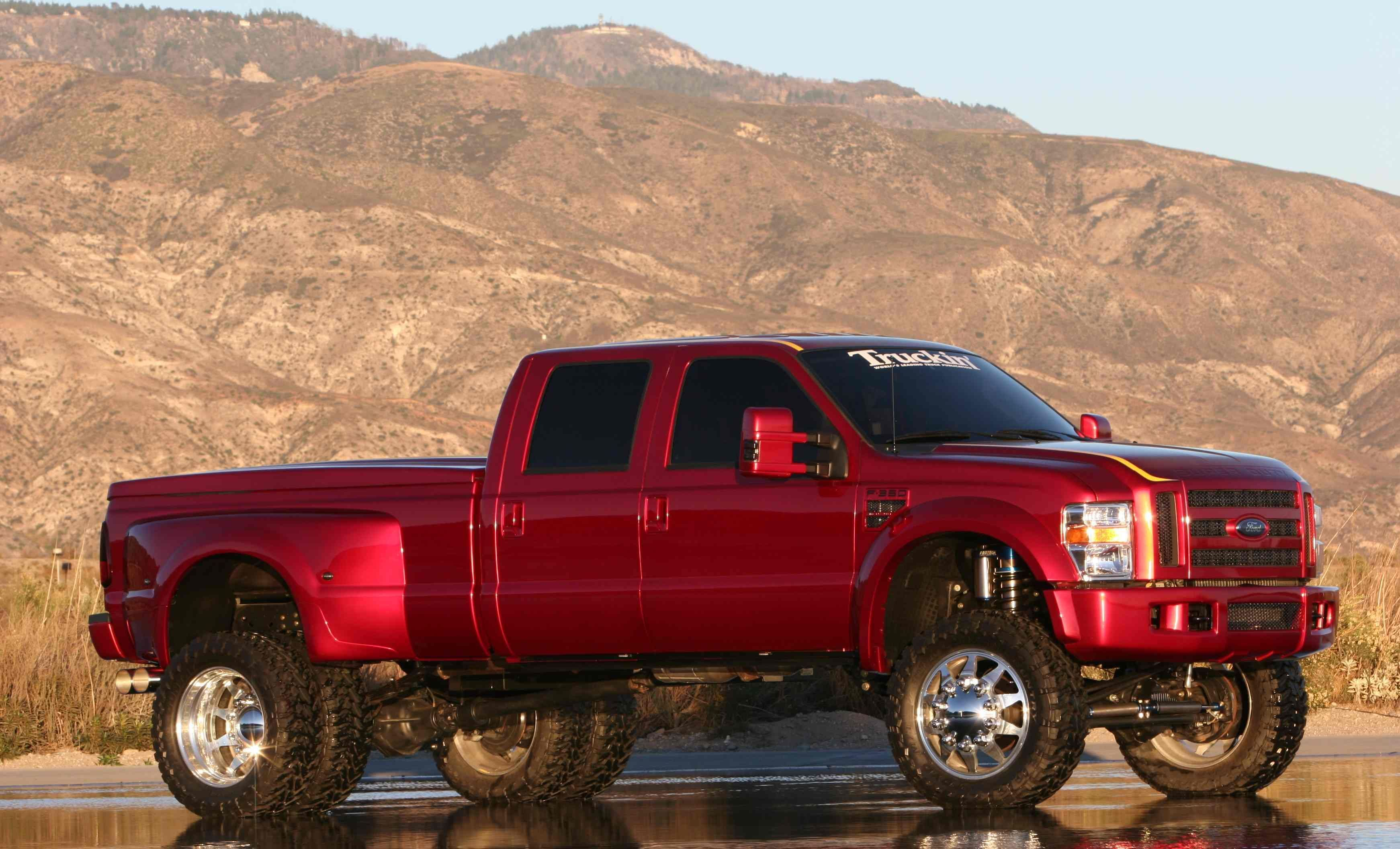 Dually truck 2005 mars red amg c55 1 out of 1299 eurocharged tune aem filters
