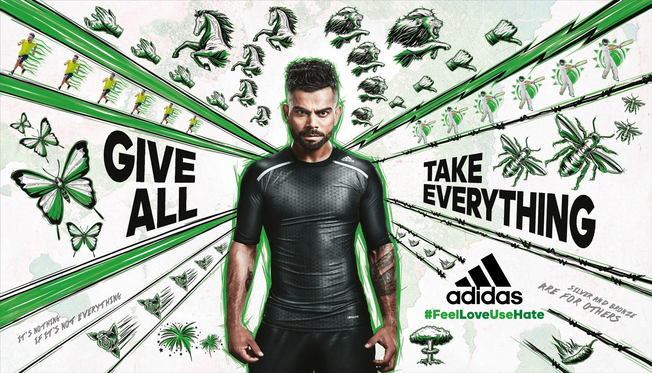 Adidas Green Ads Of The World In 2020 Advertising Campaign Adidas Adidas Ad