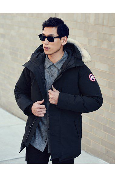 6ae9bea08f1 Canada Goose 'Chateau' Genuine Coyote Fur Trim Jacket | Nordstrom ...