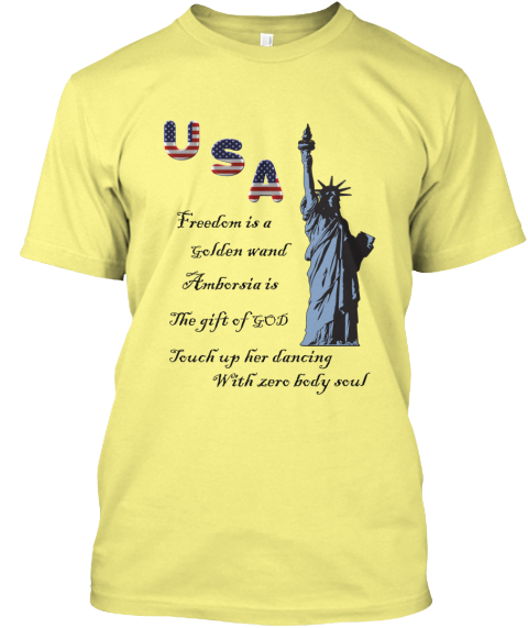 Usa Freedom Is A Golden Wand Ambersia Is The Gift Of God Touch Up Her Body With Zero Body Soul Happy Independence Day Independence Day Of Usa Independence Day