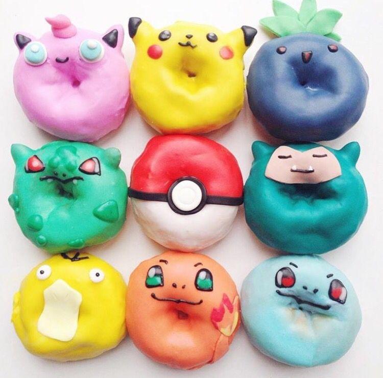 Lovely Pokemon donuts // Patrizia Conde