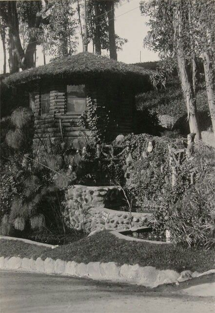Gnome S Castle Busch Gardens Pasadena Ca Early 1900 S With Images