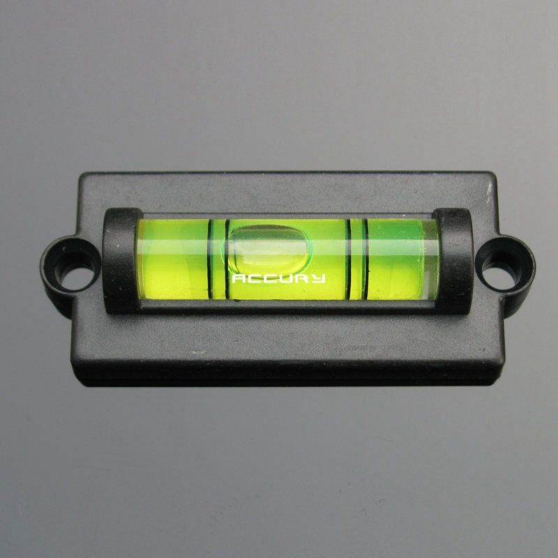Haccury Mini Bubble Level Spirit Level Small Spirit With Mounting Holes Water Level Tool With Ears In Level Measuring I Bubble Levels Bubbles Tv Wall