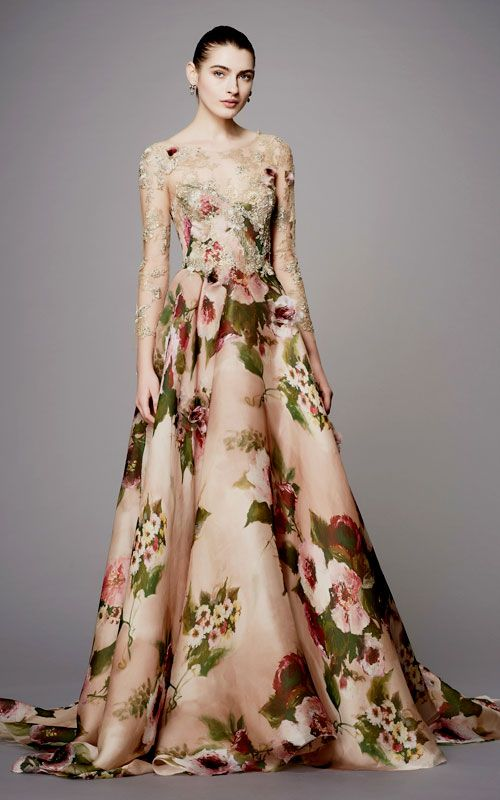 Looks So Good - Marchesa Evening Gowns from Pre-Fall 2017 | S H O P ...