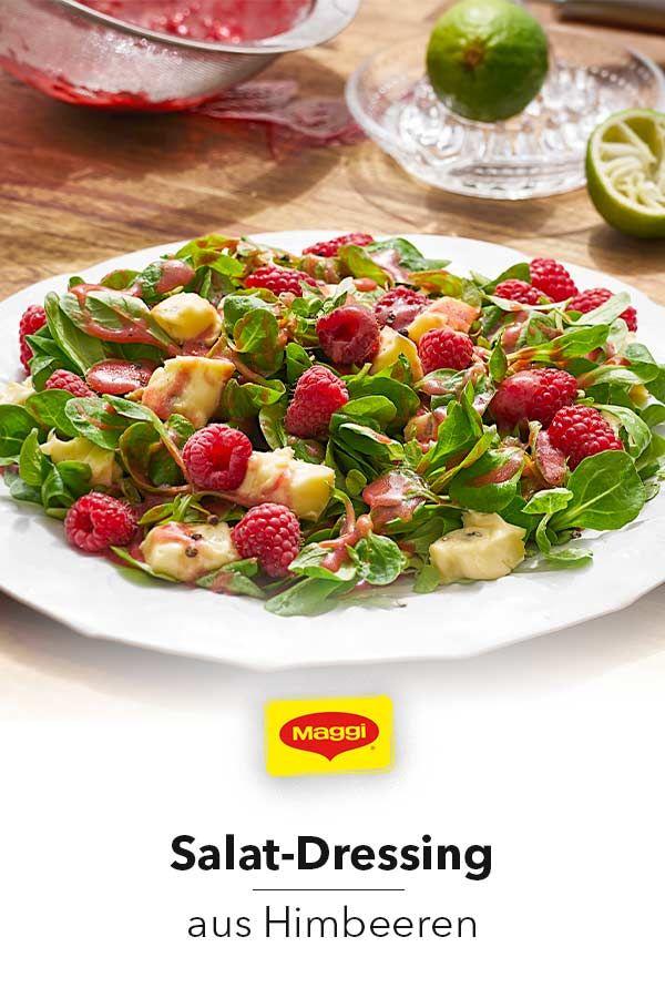 Dressing aus Himbeeren Du magst Himbeeren? Dann ist unser Dressing vielleicht dein neues Lieblingsrezept für knackige Salate. Probiere es aus!
