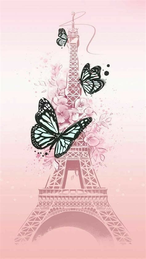 Mariposas Fondos De Pantalla Para Celular Rosas