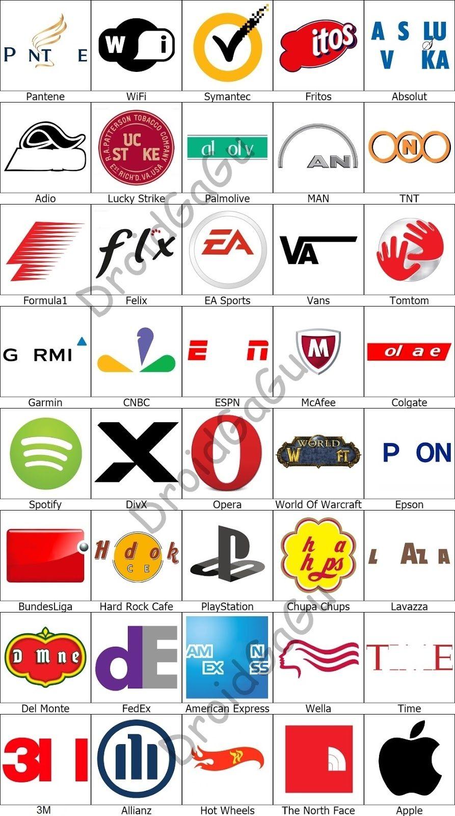 Level 6 Logo Quiz Answers Bubble DroidGaGu Logo quiz