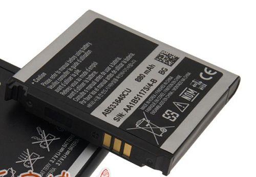 Trasporto libero di vendita al dettaglio ab533640cu batteria per samsung g600 c3110c c3310c f268 f330 f490 f669 g400 g600 j400 j630 s3600 s3600c
