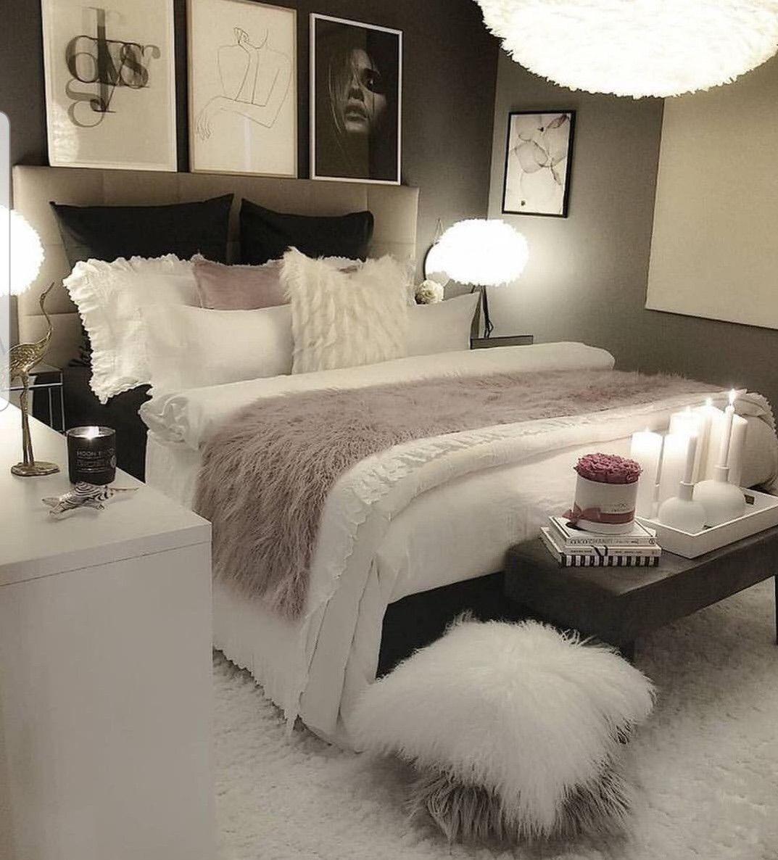 Babyyygirllll Beach Luxury Rich White Bedroom Decor Cozy