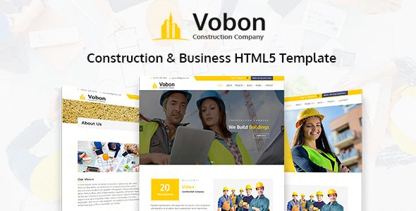 Vobon construction and business html5 template business vobon construction and business html5 template preview fbccfo Image collections