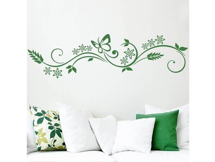 Photo of Bilderwelten Sticker mural »papillon vrille«, coloré, marron noisette