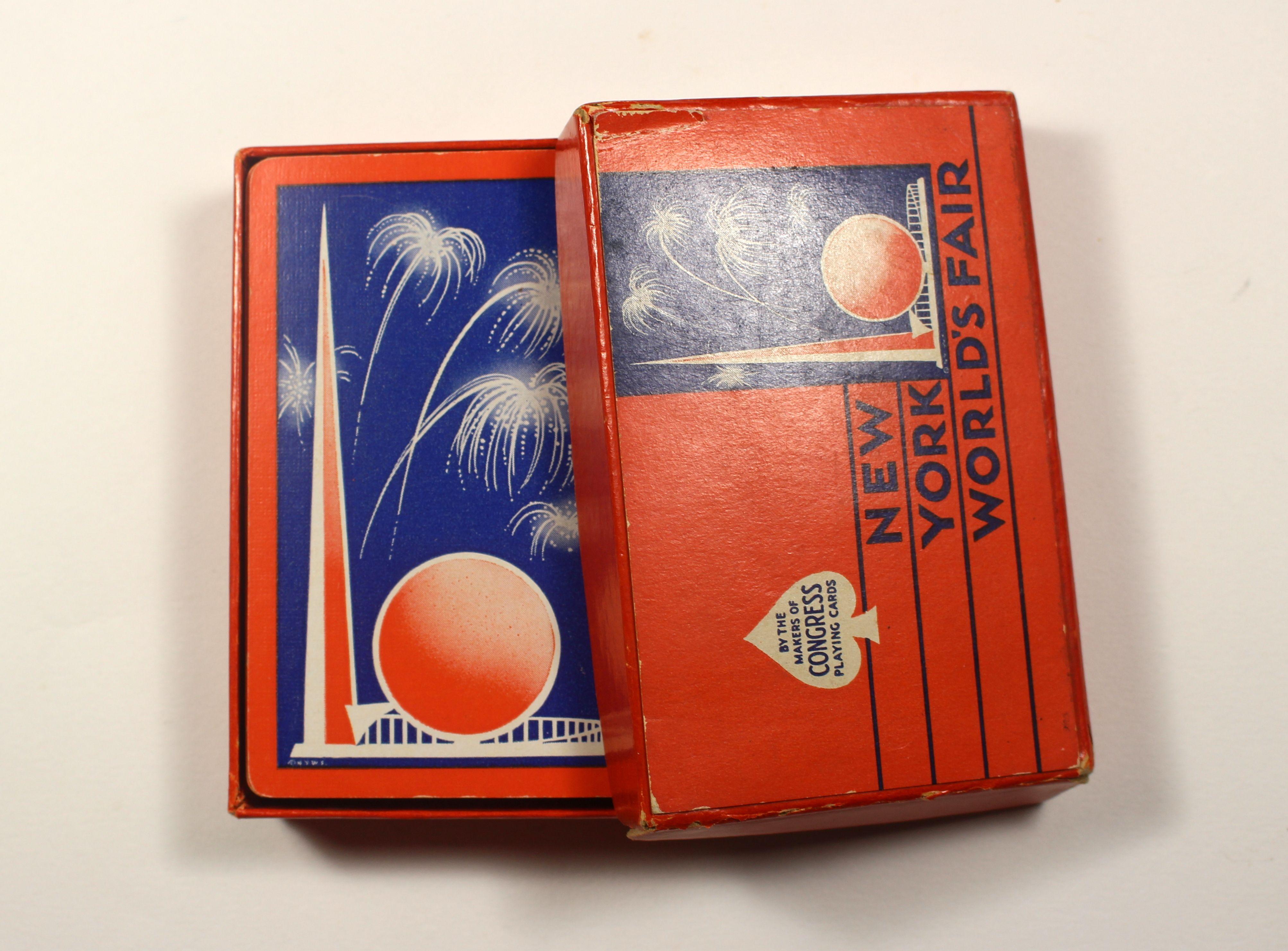 1939 new york worlds fair playing cards worlds fair