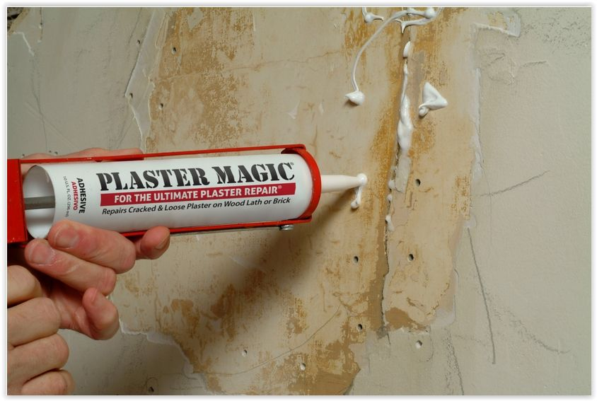 How To Repair Ed Plaster Using Wally S Magic For Easy Repairs Shown On Episodes Of This Old House