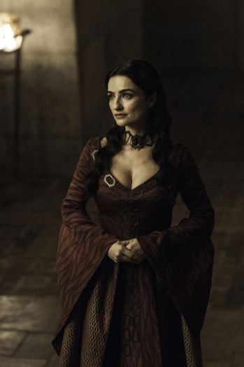"6.05 ""The Door"" – Kinvara, High Priestess of the Red Temple of Volantis, the Flame of Truth, the Light of Wisdom, the First Servant of the Lord of Light. She has come to Meereen to talk with Tyrion and Varys, and she fully supports Daenerys' claim to the Iron Throne."
