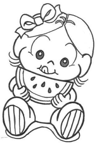 Pin De Solcire Em Pintura Sobre Tela Turma Da Monica Baby