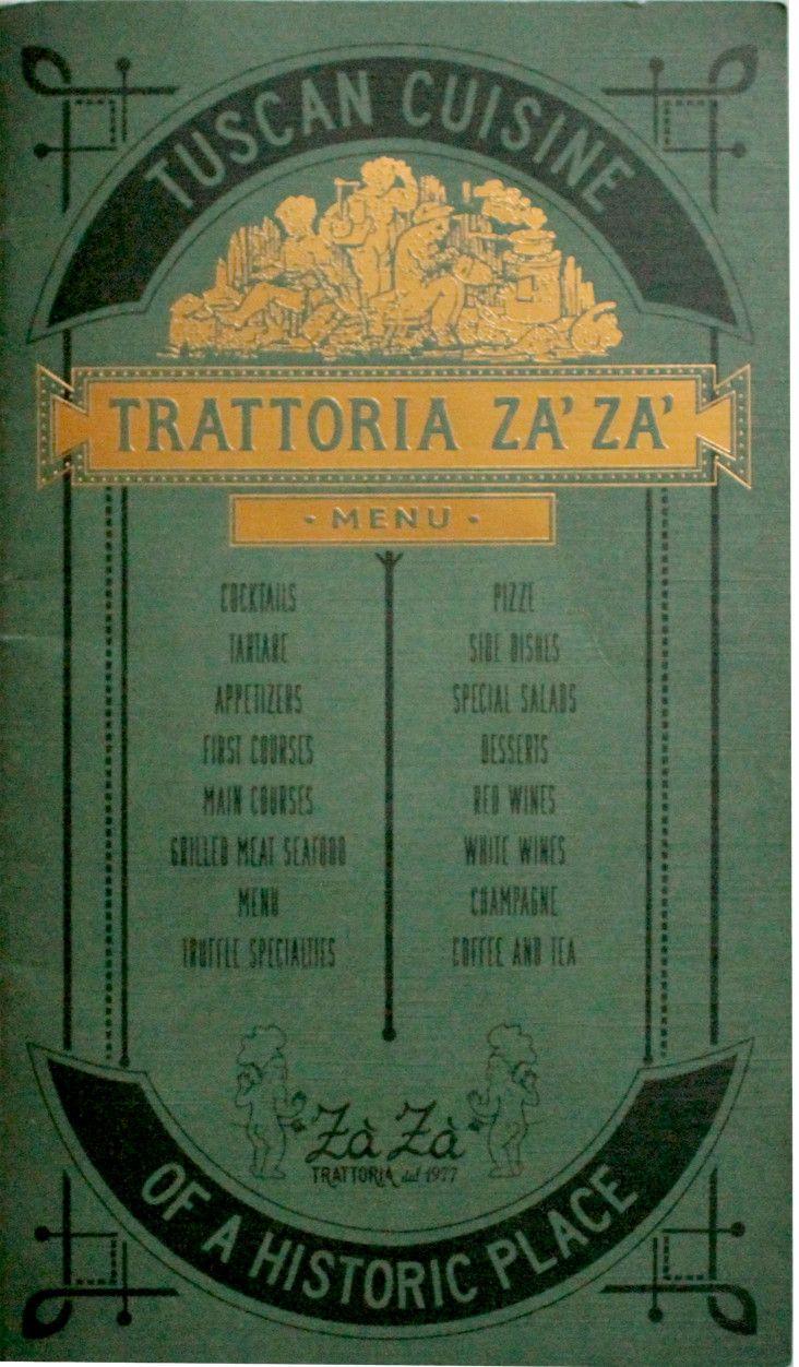 Trattoria ZaZa | Tuscan cuisine