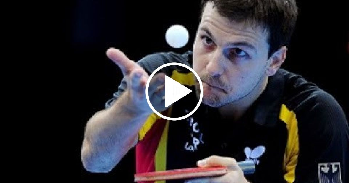 Timo Boll Fantastic Talent Table Tennis Legend Sport Report Videos