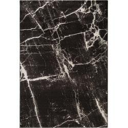Photo of benuta Trends Kurzflor Teppich Victor Schwarz/Weiß 200×290 cm – Moderner Teppich für Wohnzimmer