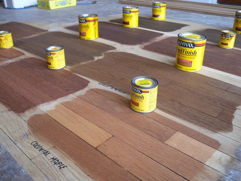 Early American Minwax Stain Colors Staining Wood Oak Hardwood