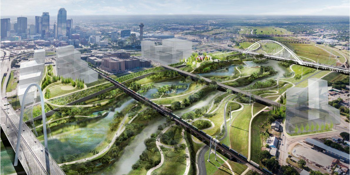 Dallas is getting a 600 million urban park that's more
