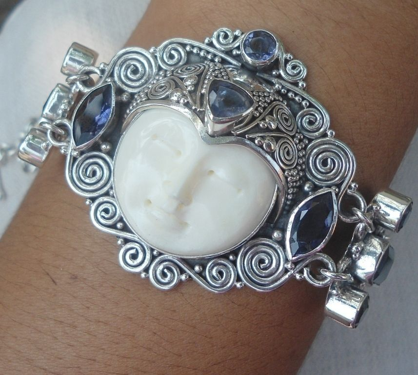 Details about Balinese genuine 925 sterling silver Long