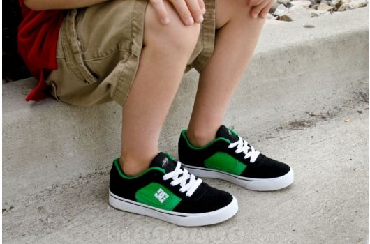 DC Shoes, tough skate shoes for cool little dudes (Toddlers and Boys).