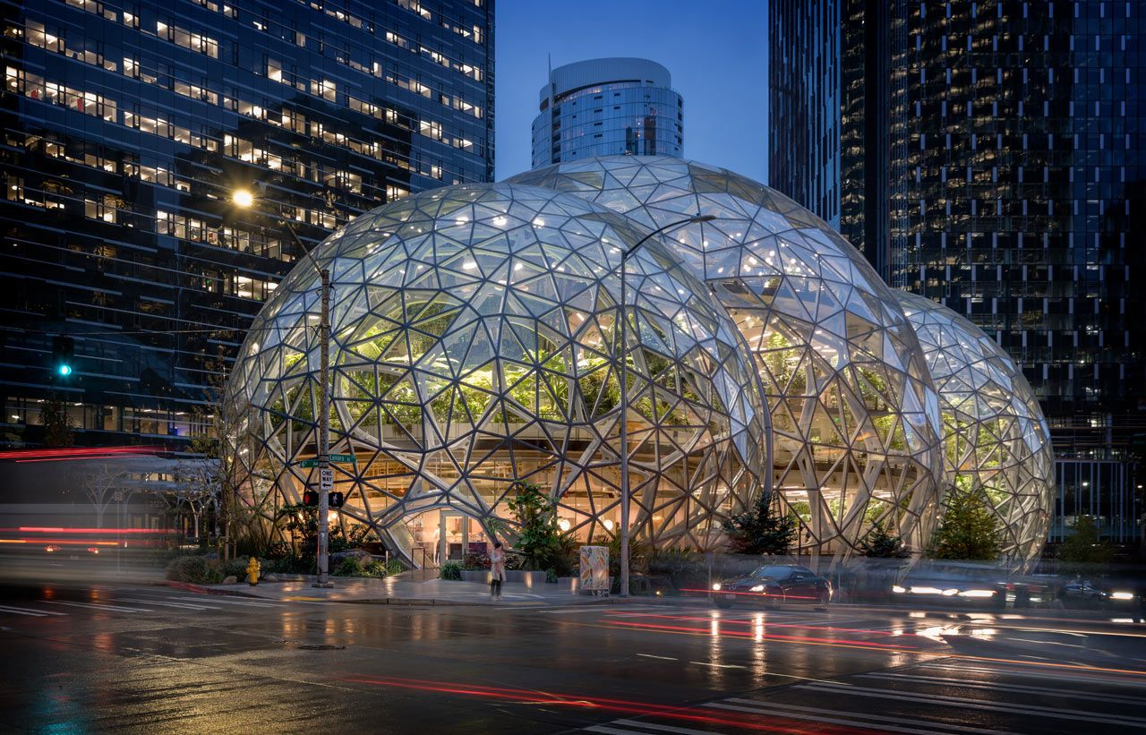 Willmott S Ghost Restaurant Opens In Domed Amazon Spheres In
