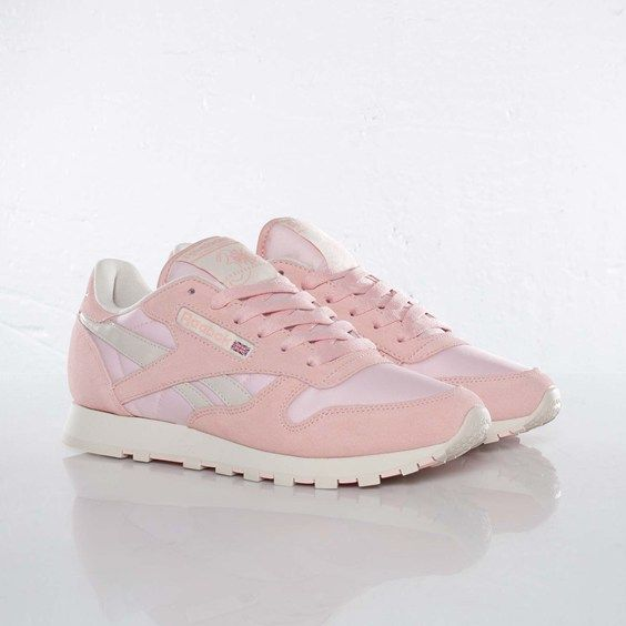 42cd70c441f7 Reebok Classic Leather Pastel Pink