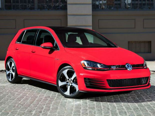 2015 Volkswagen Golf Tsi S With Sunroof