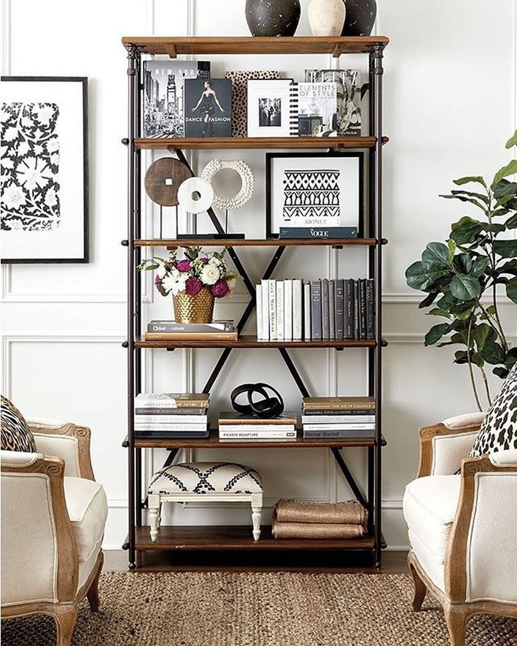 44 Awesome Open Shelving Bookshelves Ideas To Decorating Your
