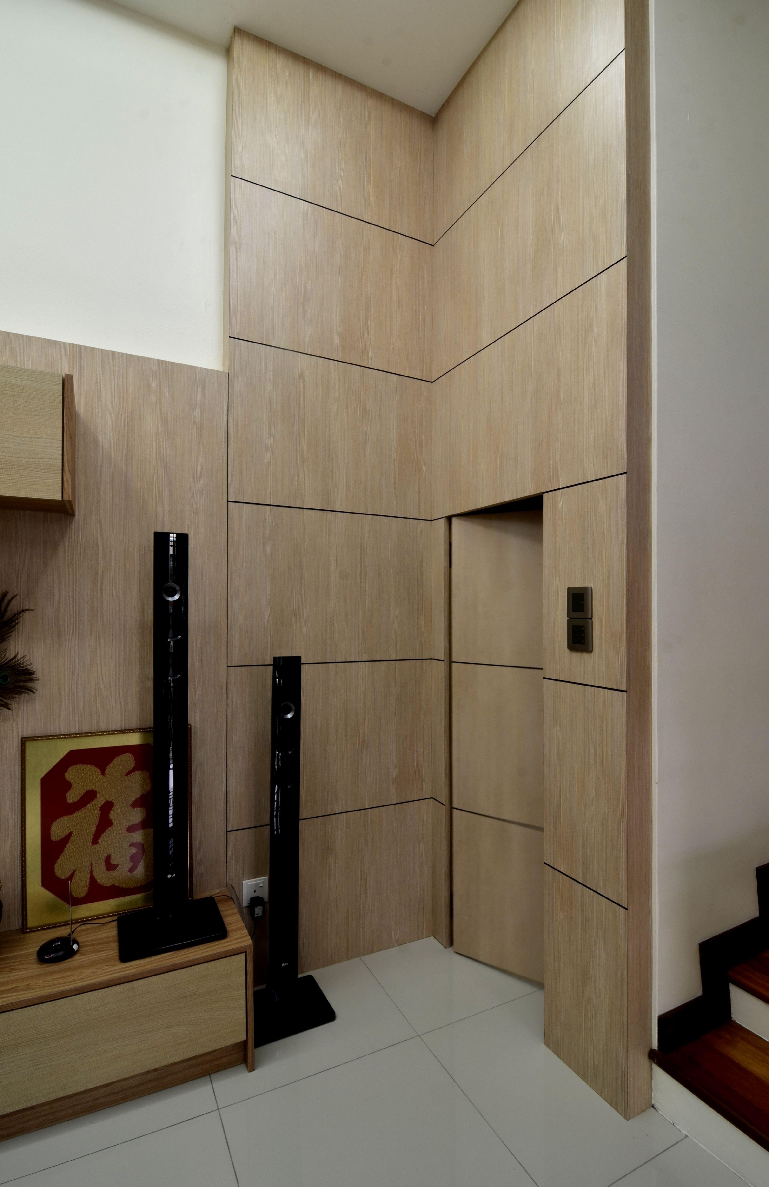 hiddendoor partition laminate flat plywood goldencarpentry