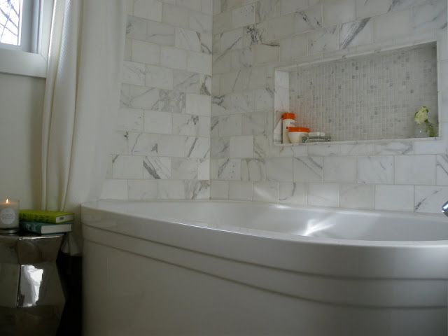 Charmant Moth Design: Waterworks   Love The Inset Niche Above Bathtub   Breaks Up  Wall And So Useful