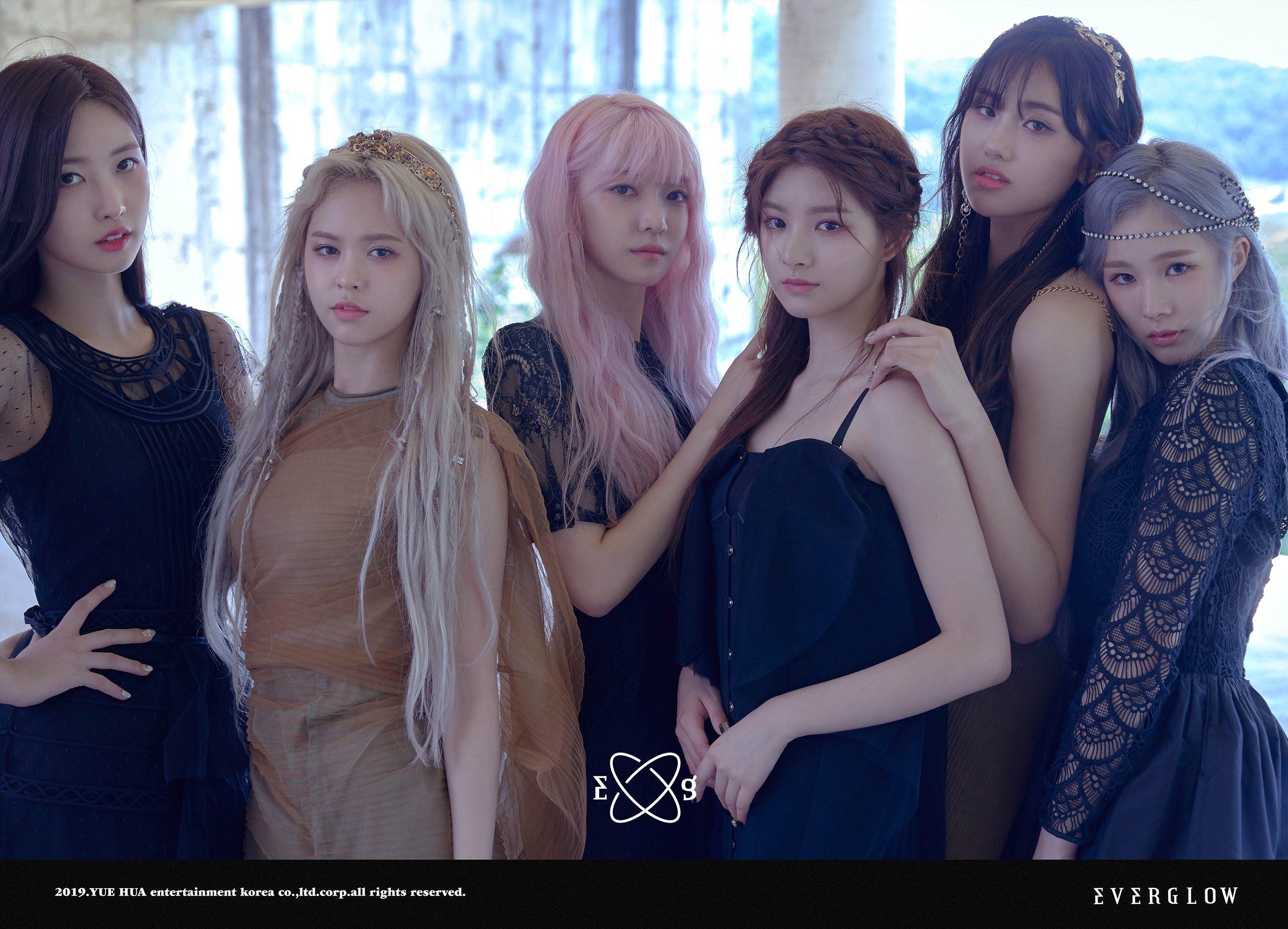 Everglow Adios Comeback Teaser Image Hush Hush Kpop Girls Kpop Girl Groups