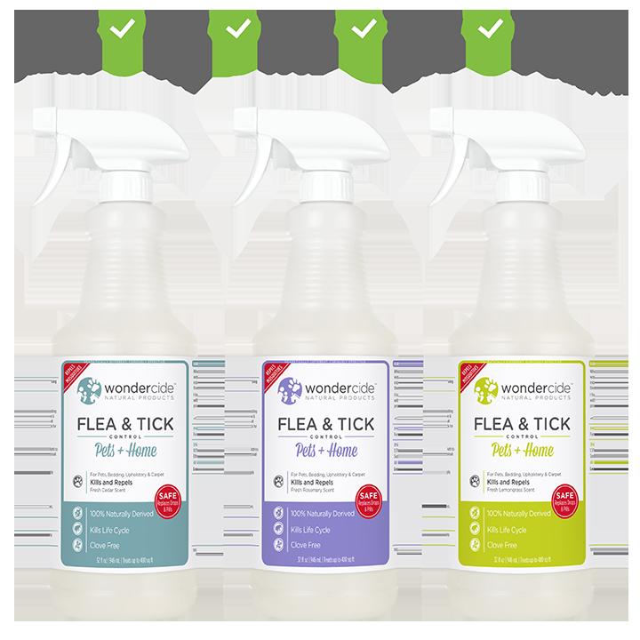 Flea & Tick Spray For Pets + Home