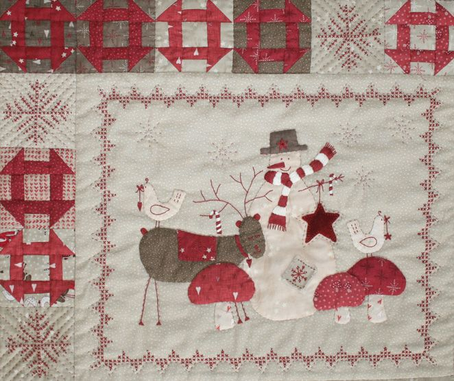Panells Cozy Quilts Christmas Quilts Scandinavian Christmas