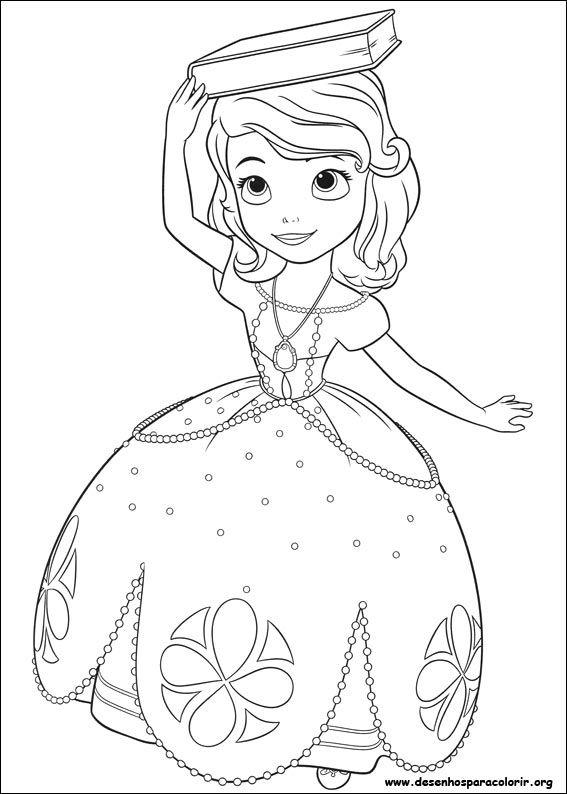 Desenho Para Imprimir Paginas Para Colorir Da Disney Princesa