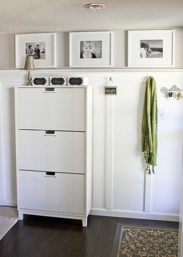ikea stall shoe cabinet interior design pinterest batten ikea hack and mudroom. Black Bedroom Furniture Sets. Home Design Ideas