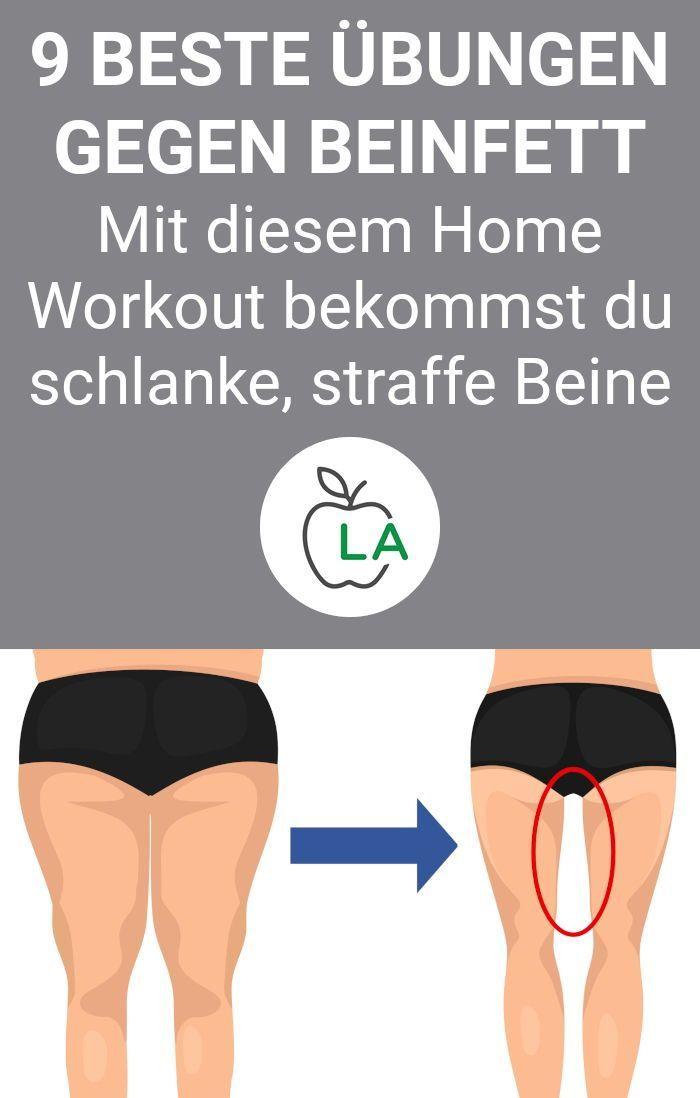 Wer schnell an den Beinen #abnehmen will, muss effektive Fitness Übungen machen. Hier findest du einen Trainingsplan für zuhause und effektive Tipps für deine #Diät. #gesundheit