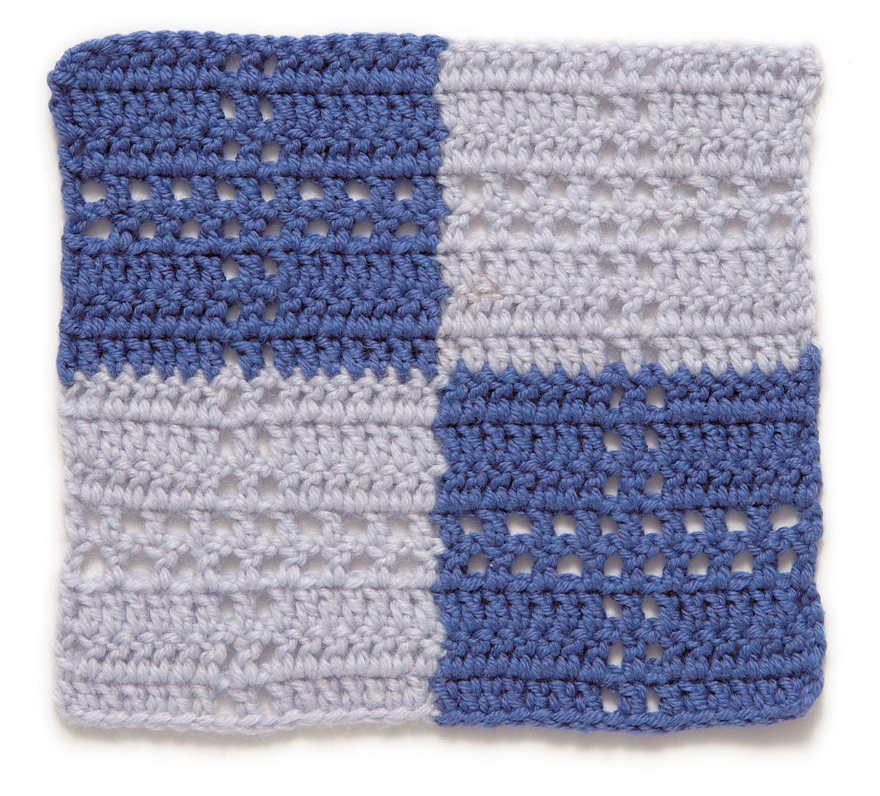 Stitchfinder: Crochet Block: Check   Proyectos que intentar ...