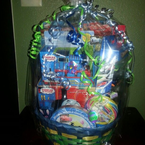 Thomas the train cars easter basket baskets pinterest thomas the train cars easter basket negle Images