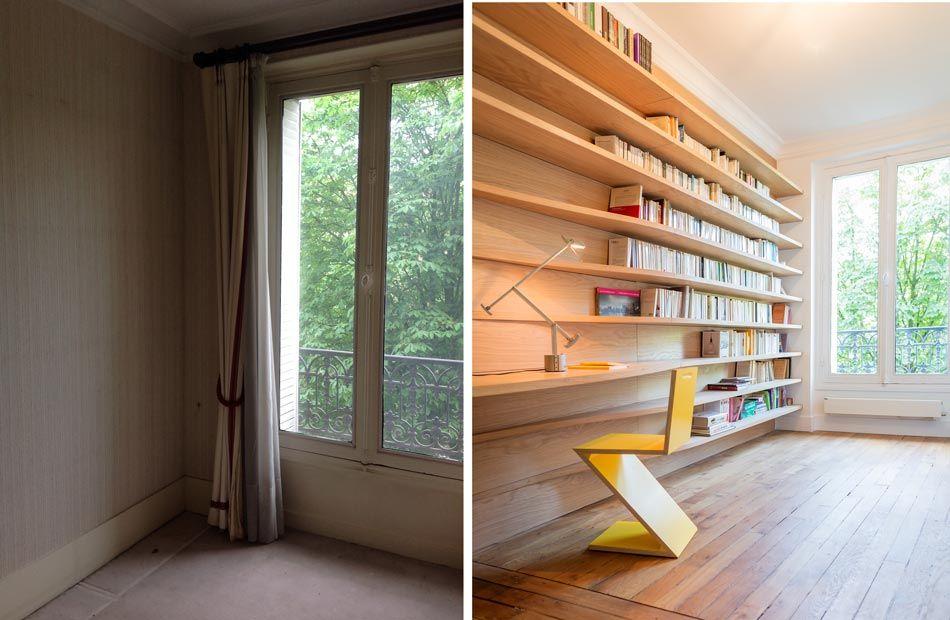 Cet appartement de 63 et 3 pièces a été entièrement rénové par un architecte dintérieur à marseille pour accueillir un jeune couple dynamique