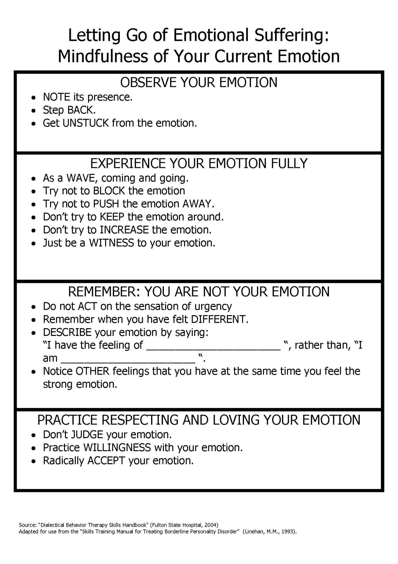 Blaming Teenage Therapy Worksheet