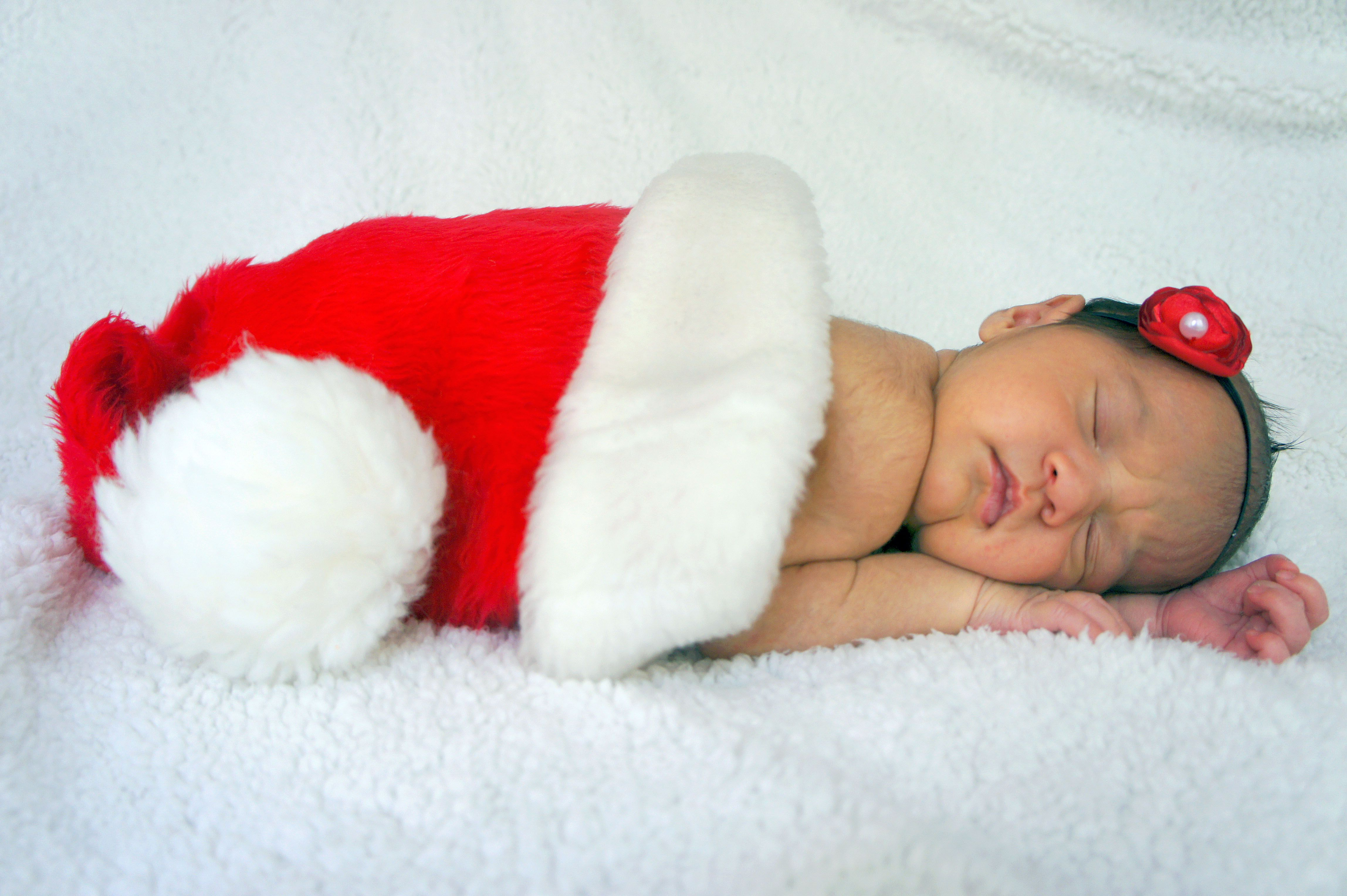 Christmas Baby.....I really wanna put the baby in a STOCKING though!! I hope it fits!