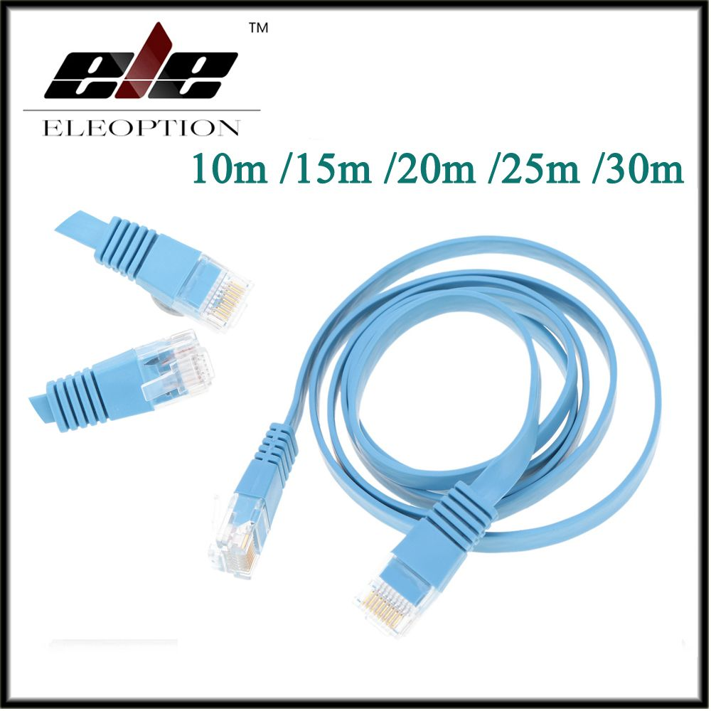 High Speed Cat6 Ethernet Flat Cable RJ45 Computer LAN Internet ...