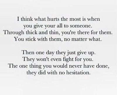 Giving Up Quotes Tumblr Memorable Quotes Quotes Love Quotes
