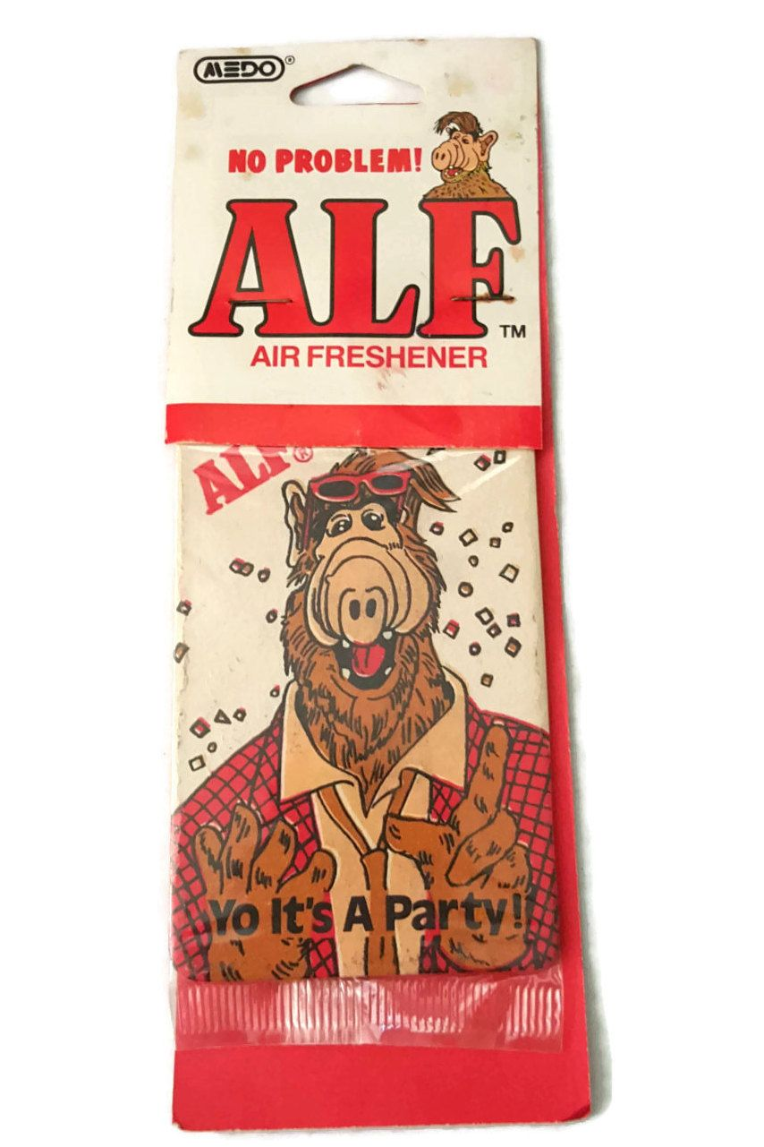 New to ThriftyTheresa on Etsy: 1988 ALF Vintage Car Air Freshener ...