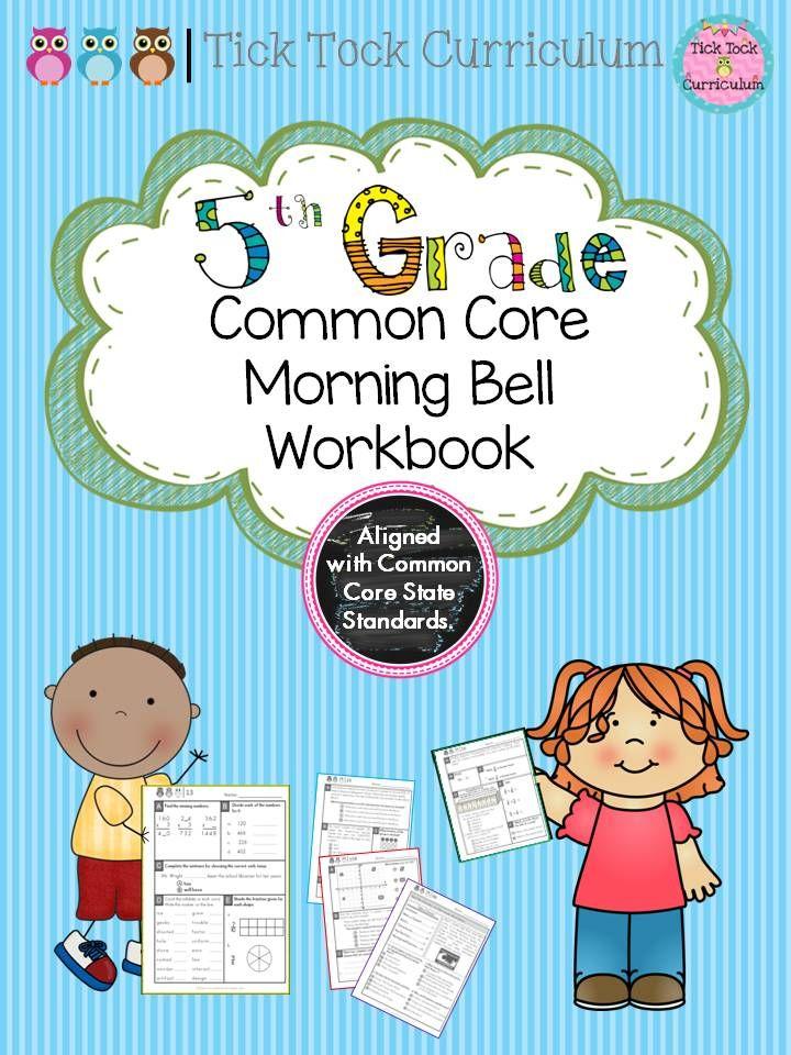 5th Grade Daily Skills Morning Work | English language, Writing ...